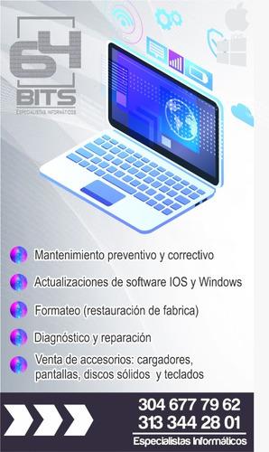 servicio tecnico especializado para computadores.
