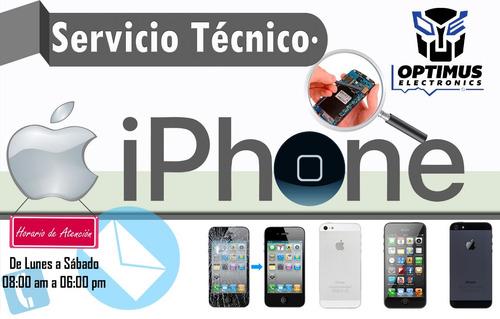 servicio técnico especializado reparacion iphone ipad apple