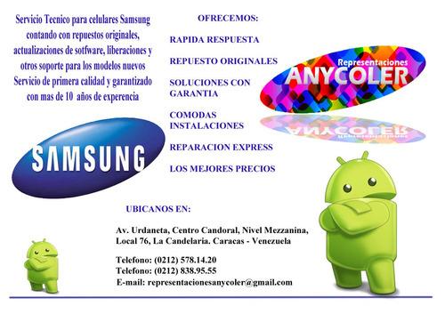 servicio tecnico especializado samsung