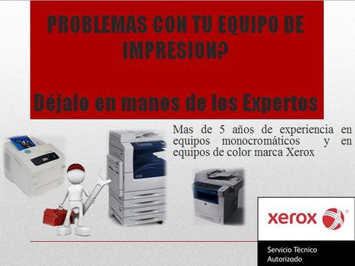 servicio técnico especializado xerox