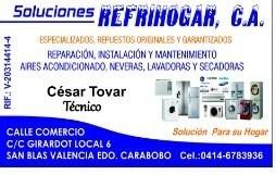 servicio técnico especializados lg neveras, lavadoras, aires