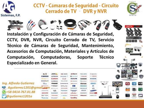 servicio técnico especialzado de pc, redes, software, cctv
