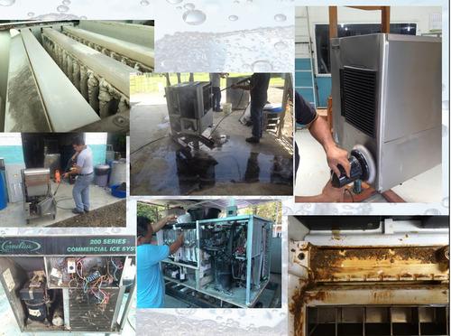 servicio técnico fabricadores de hielo y maquinas de hielo