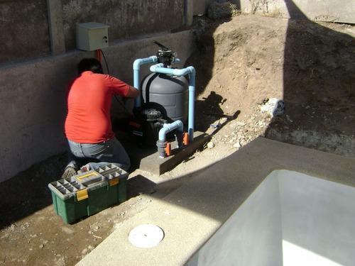 servicio técnico filtros de piscinas
