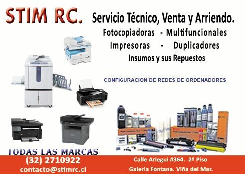 servicio técnico fotocopiadoras - impresoras - duplicadores