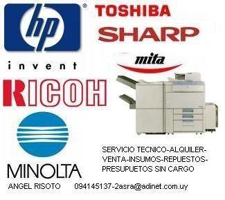 servicio tecnico fotocopiadoras-impresoras-venta-alquiler-