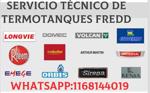 servicio técnico fredd/reparaciones e instalaciones:termotan