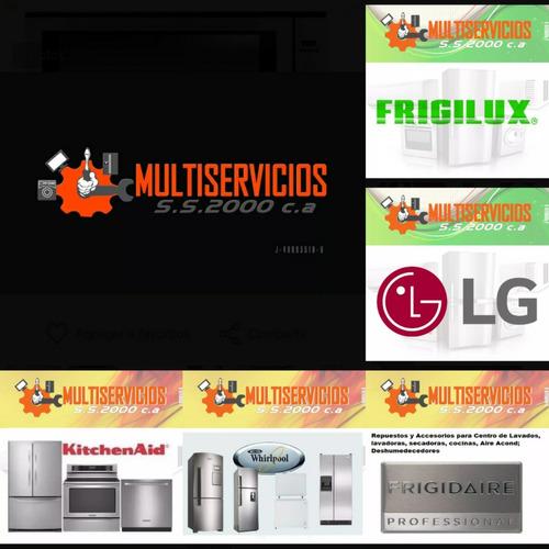 servicio tecnico frigidaire cocina horno