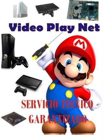servicio tecnico garantizado,ventas, ps2,ps3,wii,xbox 360,ds