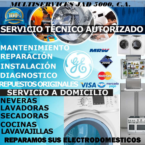 servicio técnico general electric nevera lavadora secadora