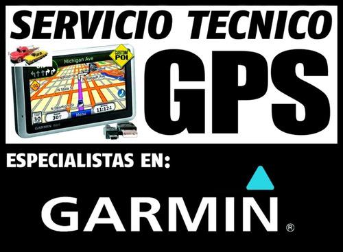 servicio tecnico gps garmin nuvi forerruner etrex montana