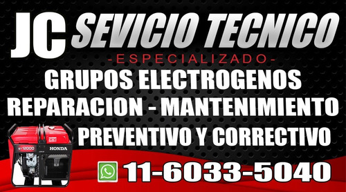 servicio tecnico grupo electrogeno