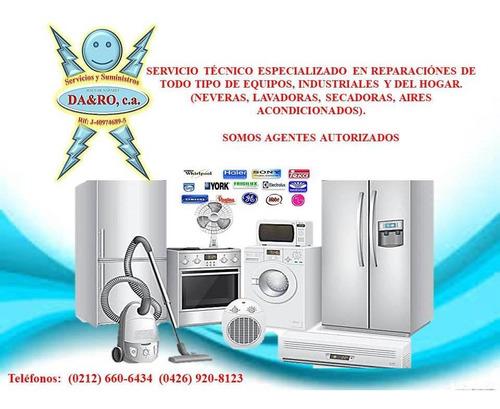 servicio técnico haier whirlpool  nevera lavadoras secadoras
