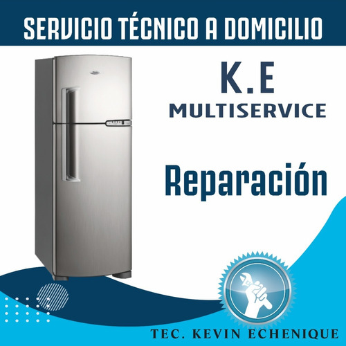 servicio tecnico heladera, lavarropa y aire acondicionado