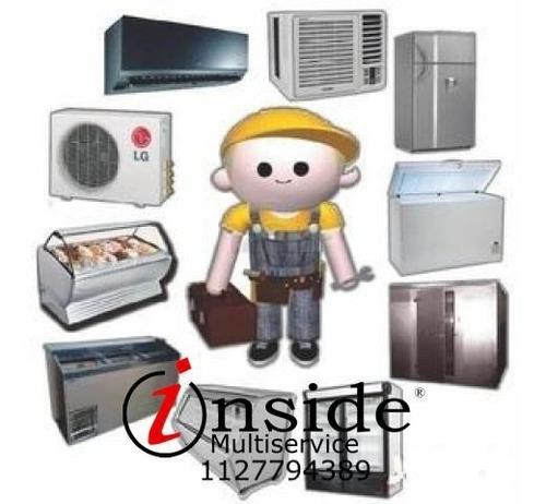 servicio tecnico heladeras, aire acondicionado