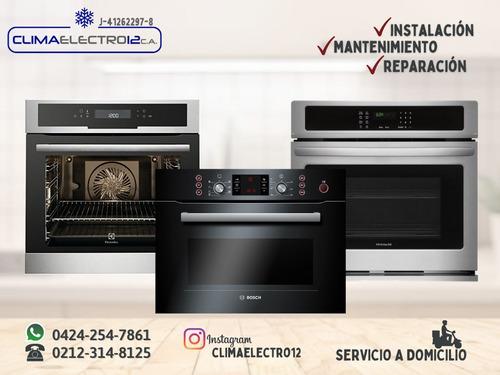 servicio tecnico horno teka frigilux cocina gas y eléctricos