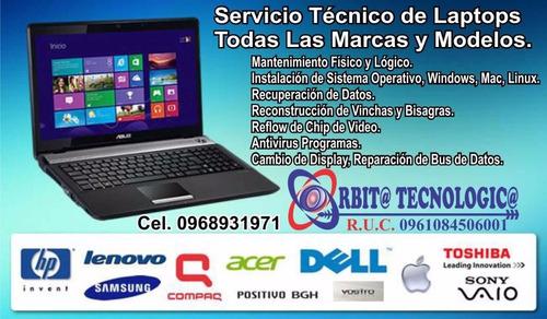 servicio tecnico impresoras computadoras y laptops guayaquil