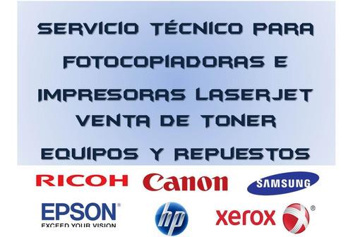 servicio tecnico impresoras y copiadoras