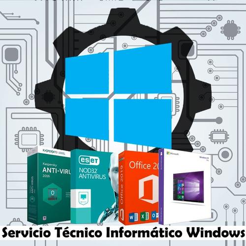 servicio técnico informático windows