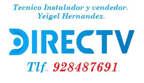 servicio técnico instalación directv prepago