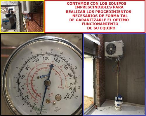 servicio tecnico, instalacion, mantenimiento aires ac split