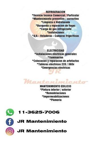servicio tecnico - instalaciones de a/a - mantenimiento gral