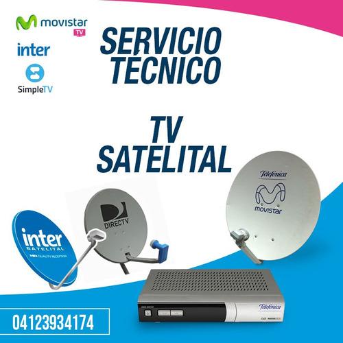 servicio tecnico inter satelital movistar tv valles del tuy
