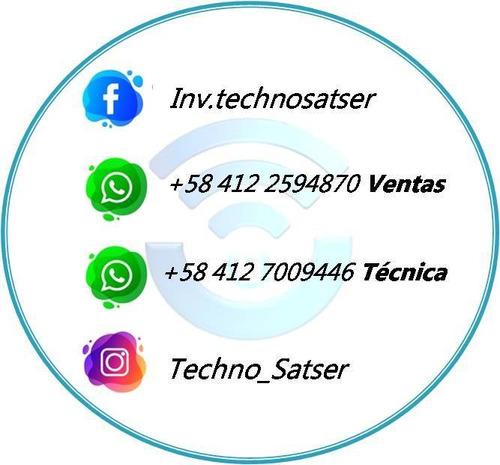 servicio técnico inter satelital, venta e instalación