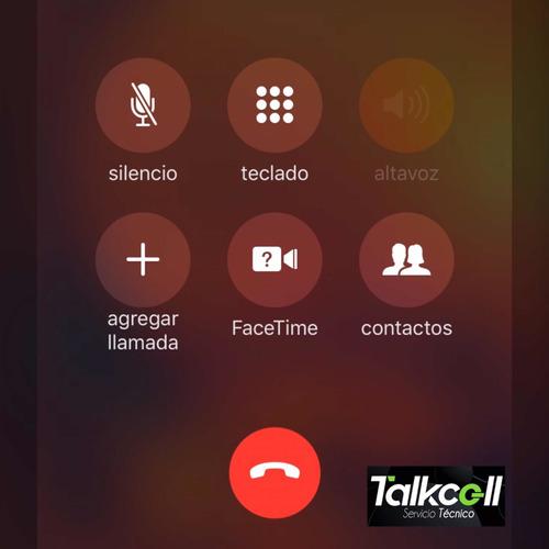 servicio técnico iphone 7 , 7 plus ( falla sin audio )