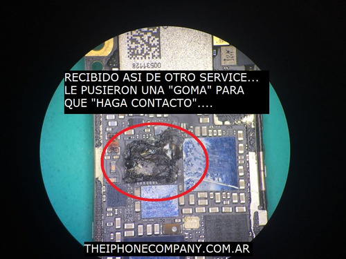 servicio tecnico iphone apple reparacion de placa en 2 horas
