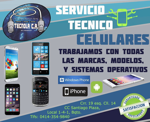 servicio tecnico iphone blackberry samsung lg htc tecnola