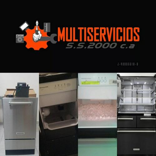 servicio tecnico kitchenaid whirlpool fabricador de hielo 31