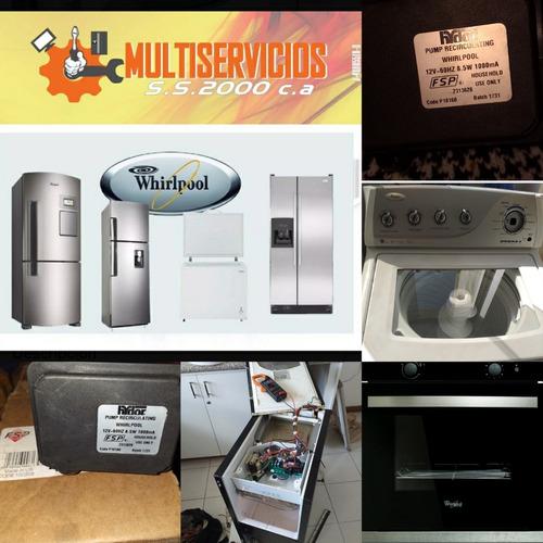 servicio técnico kitchenaid whirlpool fabricador de hielo
