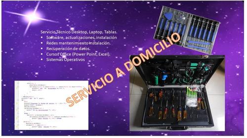 servicio técnico laptops desktops