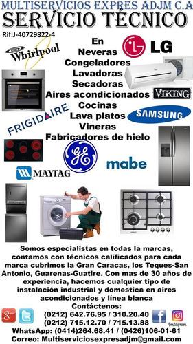servicio técnico lavadora secadora nevera lg samsung repuest