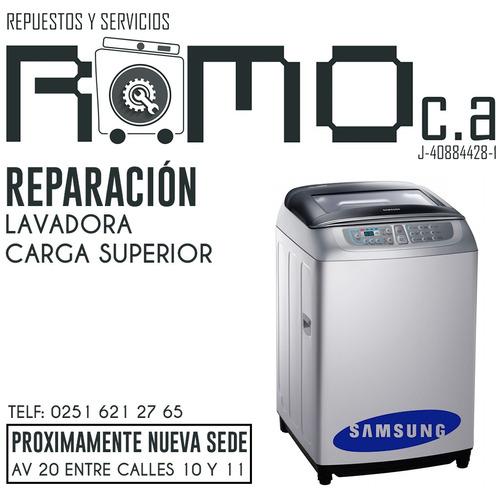 servicio técnico lavadoras carga frontal samsung