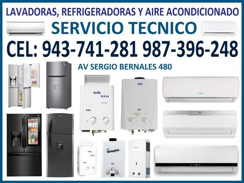 servicio técnico  lavadoras frigidaire whirlpol  943 741 281