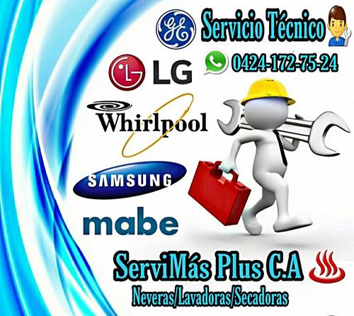 servicio técnico lavadoras neveras mabe whirlpool lg haier