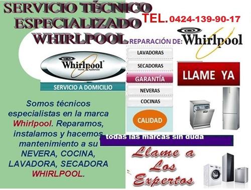 servicio técnico lavadoras neveras whirlpool frigidaire mabe