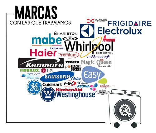 servicio técnico lavadoras y secadoras mabe ge idsystem