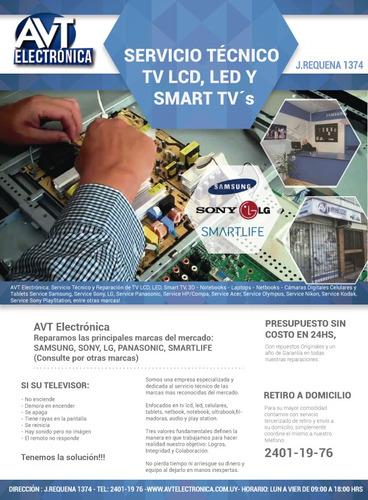 servicio técnico lcd led