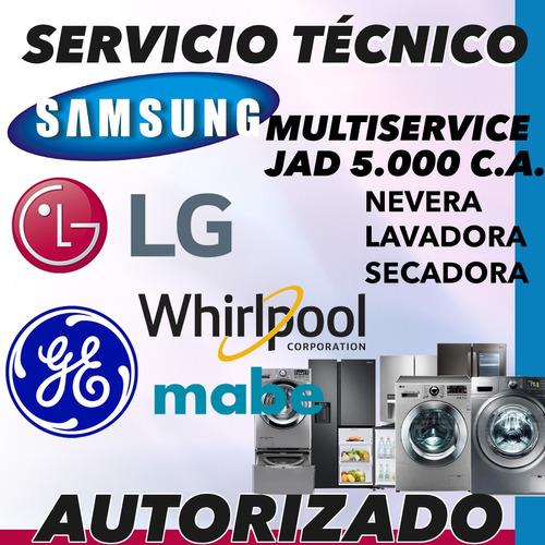 servicio tecnico lg mabe samsung whirlpool nevera lavadora