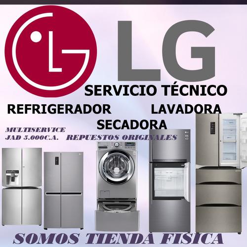 servicio tecnico lg nevera lavadora secadora hielera