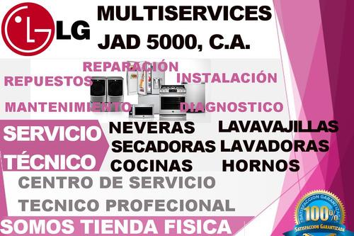servicio técnico  lg  nevera lavadoras reparación repuestos
