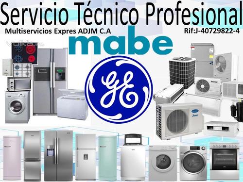 servicio técnico mabe general electri cocina,nevera,lavadora