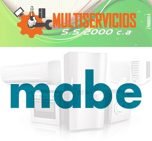 servicio tecnico mabe lavadoras autorizado