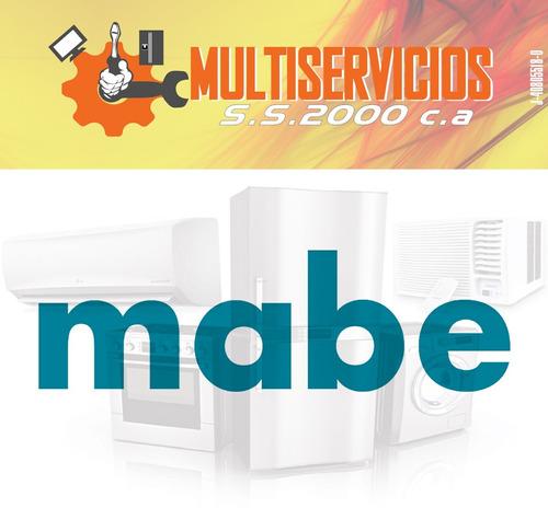 servicio tecnico mabe neveras lavadoras autorizado