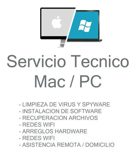 servicio técnico mac / pc