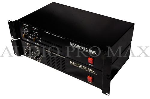 servicio tecnico macrotec sonido consolas