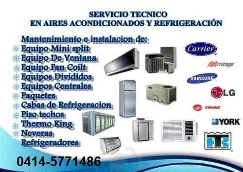 servicio técnico - mantenimiento de aires acondicionados